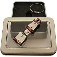 Souvenir Leuchtturm | Geschenkidee: USB-Stick mit Schlüsselanhänger in Form eines Leuchtturms für Frauen & Männer | inklusive Fotogalerie von Sehenswürdigkeiten der Küstenregionen Ostsee & Nordsee | Memory Stick 8 GB | CultourStix