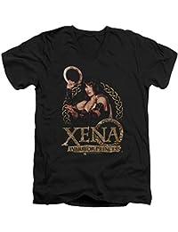 Xena: Warrior Princess - Männer mit V-Ausschnitt T-Shirt Lizenz