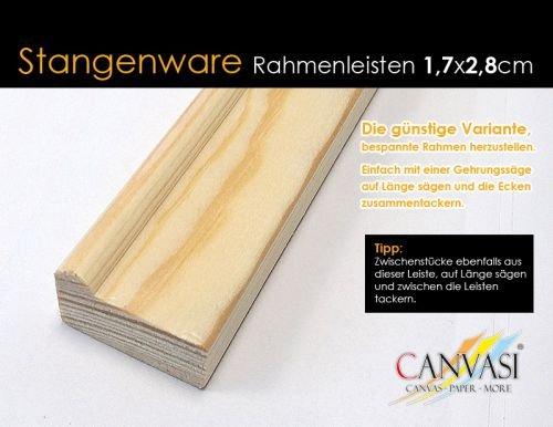 Rahmenleiste Basic 17 x 28 - Leistenlänge: 3,05 Meter - FSC zertifiziert