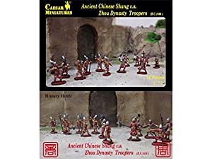 Unbekannt Caesar Miniatures h029Figuras Ancient Chinese Shang v.s. Zhou Dynasty Troopers