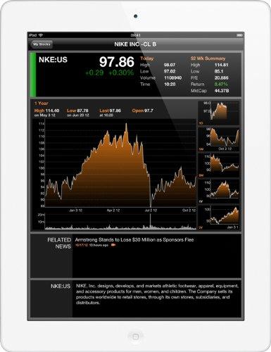 """Apple Computer 24.6cm(9.7"""") Apple iPad 4 Wi-Fi + 4G 64GB weiß Notepad"""