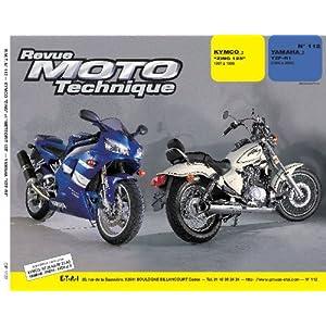 RMT 112 Kymco 125 et Yamaha R1