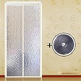 platten Fliegengitter für Fenster, sommer winddicht - türen mit magneten mesh - vorhang-A-90x200cm(35x79inch)