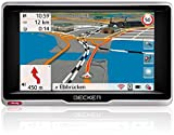 Becker professional.5 LMU Navigationsgerät (12,7 cm (5 Zoll) kapazitives Echtglasdisplay, 47 Länder, WiFi, Bluetooth, Sprachsteuerung) schwarz/silber