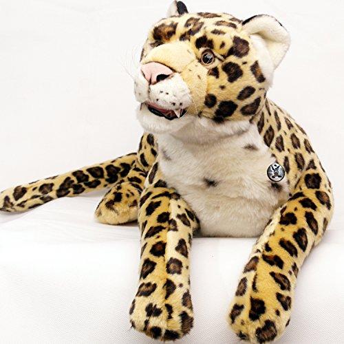 rd Raubkatze liegend Plüschtier 66 cm von Kuscheltiere.biz (Jaguar Kuscheltier)
