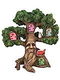 GlitZGlam Encantador Árbol en Miniatura para Jardín de Hadas: el Árbol de Joshua (26.6cm de Alto) para Jardín de Hadas y Gnomos de Césped. El Accesorio Ideal para tu Jardín de Hadas