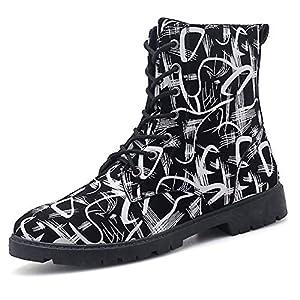 FMWLST Stiefel Stiefel Der Männer Herbst Und Winter Binden Taktische Stiefel Bequeme Stiefel Im Freien