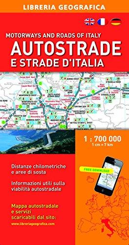 Autostrade e strade d'Italia 1:700.000