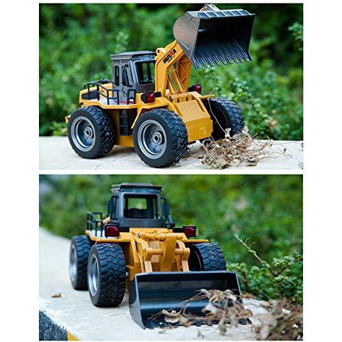 RC Auto kaufen Baufahrzeug Bild 3: s-idee® 18146 S1520 Rc Radlader Bagger 1:18 mit 2,4 GHz schwenkbare Schaufel Huina 1520*