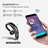Mpow® Bluetooth Headset [Business Stil] Wireless Headset Bluetooth Ohrhörer Freisprechen mit Clear Voice Capture Technologie Bluetooth In-Ear Headset für iPhone Samsung Huawei HTC, usw. (Bluetooth 4.1, 280 Stunden Standby-Zeit, Schwarz) - 3