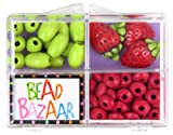 Best American Girl Crafts Jewelry Making Kits - Bead Bazaar Fun Fruitastic Bead Kits Strawberry Review