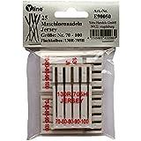 25 Nähmaschinennadeln Jersey Nr.70-100 Flachkolben 130R/705H für Nähmaschine, Maschinen Nadeln, E90050