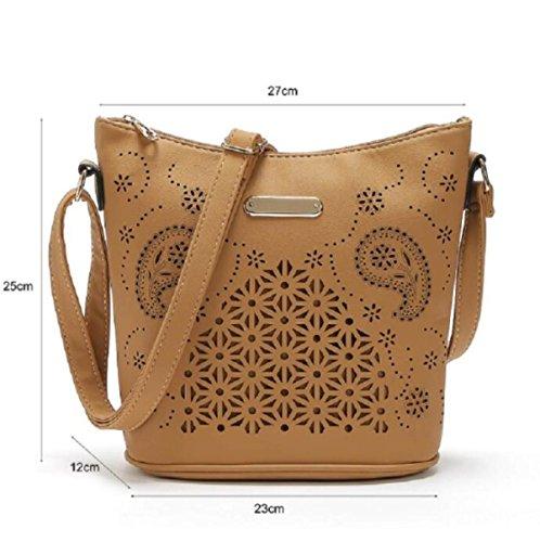 Eimer Tasche Große Handtasche Große Kapazität Schulter Diagonale Paket Black