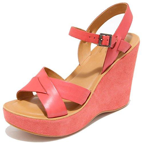 8515I KORK-EASE sandalo zeppa donna sandas shoes woman rosa [40 EU 10 US]
