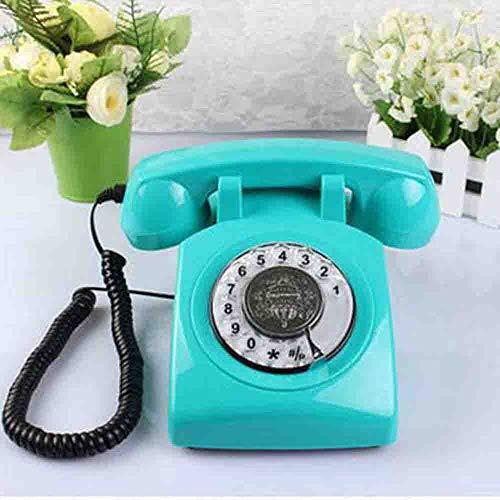 MEICHEN Startseite Rotary Antique Phone Basephone Retro Craft Plattenspieler Antikes Telefon Retro Telefon