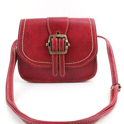 Koly_Le donne di moda spalla della borsa Grande borsa Tote signore Rosso Baja Depuración De Envío OymVpmipj