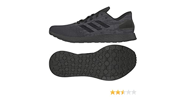 2895a6bc206b9 Adidas Men s Pureboost DPR Ltd Running Shoes 10 10 M US Black  Buy Online  at Low Prices in India - Amazon.in