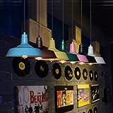 Nostralux®Modern Industrial Retro Pendant Lamp Factory Ceiling Lights E27 - Black