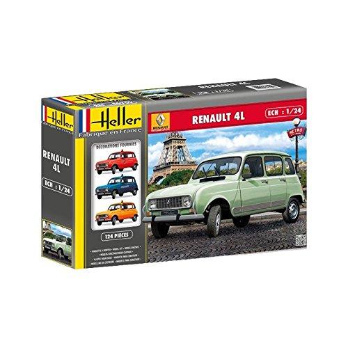 Heller - 80759 - muestra - Coches - Renault 4l - Escala 1/24 - Clásico