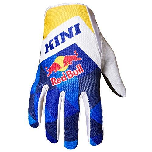 Guantes MX/MTB Kini Red Bull Vintage azul/amarillo M/9 Blu/Giallo