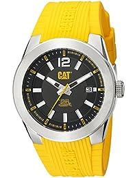 CAT WATCHES Men's AB14127137 T7 Date Analog Display Quartz Yellow Watch