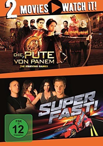 Die Pute von Panem - The Starving Games / Superfast! [Alemania] [DVD]