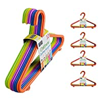 Guaranteed4Less 50 or 100 Kids Hangers Clothes Coat Multi Coloured Children Plastic Child Baby
