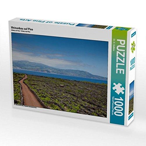 Weinanbau auf Pico 1000 Teile Puzzle quer