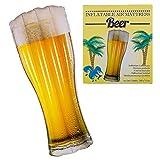 Preis am Stiel Aufblasbare Luftmatratze ''Bier'' | schwimm Zubehör aufblasbar | Luftmatratze Pool | Urlaub | Pool - Party | Luftmatratze Wasser | Wasserliege | Luftbett | Strand-Matratze