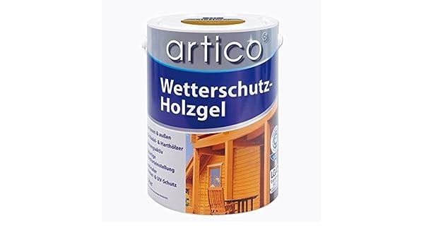 Artico Wetterschutz Holzgel 5 Liter Kiefer Amazonde Baumarkt
