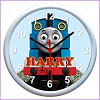 Personalised THOMAS THE TANK ENGINE Wall Clock - An Ideal Gift
