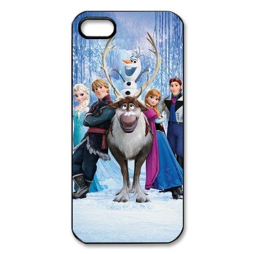 """Disney Frozen, Elsa, Anna, Olaf Design Étui pour l'iPhone 5/5S, Personalized Coque pour iPhone 5S """", Customize Disney Frozen, Elsa, Anna, Olaf TPU Phone Case Housse de Protection Coque H"""