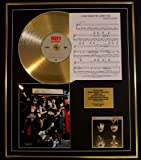 KISS/CD GOLD DISC UND PHOTO UND SONG SHEET DISPLAY/LIMITIERTE AUFLAGE/COA/ALBUM, DYNASTY /SONG SHEET, I WAS MADE FOR LOV