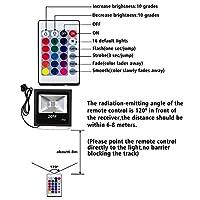 RGB Flood Light by T-SUNRISE