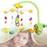 CHIGANT Baby & Kleinkind Kindermobile Musik-Mobile Spieluhr Honigbienen Zum Befestigen am Bett für Babys von 0-8 Monaten