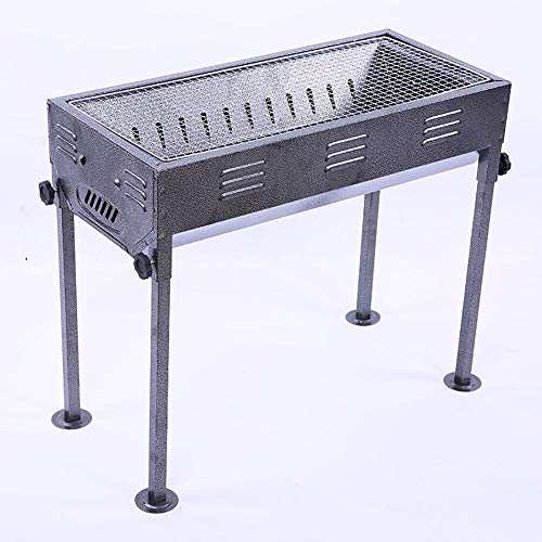 CAR tC Holzkohlegrill tragbar, Large Folding Grill Japanese Factory Direct Outdoor-Holzkohlegrill Freizeit Grill Heim Grill geeignet für 5-10 Personen