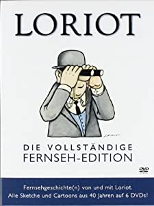 Loriot - Die vollständige Fernseh-Edition - Alle Sketche und Cartoons aus 40 Jahren [6 DVDs]
