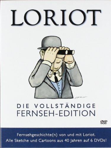 Loriot - Vollständige Fernseh-Edition inkl. 50 noch nie veröffentlichter Sketche (6 DVDs)
