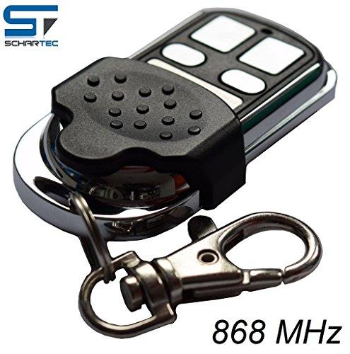 Handsender für Berner Torantriebe mit 868 MHz Festcode - ersetzt BHS 140 BHS - 110 BHS - 121 Funk Fernbedienung für Garagentorantrieb GA 201 301 401 - Funksender Garagentor