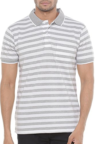Wexford Striped Men's Polo Neck Multicolor T-Shirt