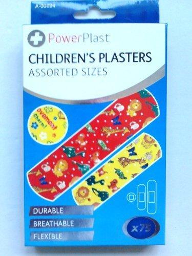 powerplast-75-childrens-plasters-assorted-sizes-by-powerplast