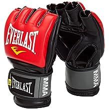 Everlast mma guantes de lucha -,large/x large rojo para hombre
