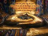 Artland Qualitätsbilder I Poster Kunstdruck Bilder 60 x 45 cm Fantasy Mythologie Religion Buddhismus Foto Gold A4WN Weisheit