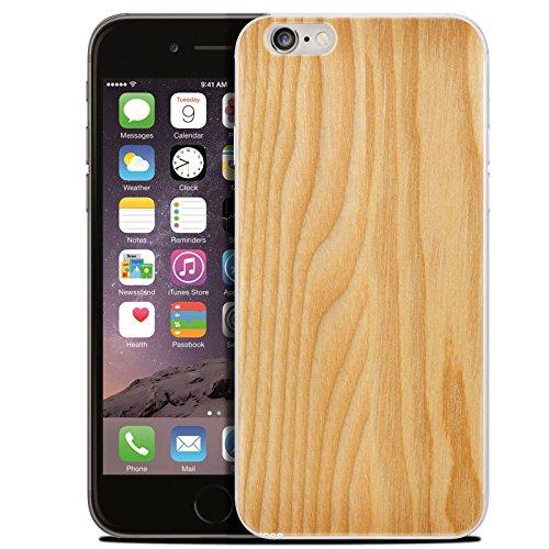 Easbuy Handy Hülle Soft Silikon Case Marmor Holzmaserung Pattern Etui Tasche für iPhone 7 7 Plus Cover Handytasche Handyhülle Schutzhülle Mode 4