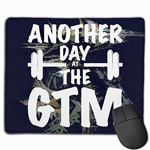 Another GTM Non-Slip Rubber Mouse Mat Mouse Pad for Desktops, Computer, PC and Laptops 9.8 X 11.8 inch (25x30cm)