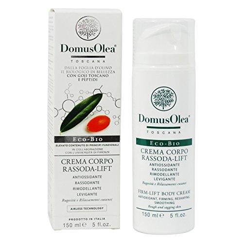 DOMUS OLEA - Körper-Straffungscreme - Ideal nach Schwangerschaften - Glättend & tonisierend - Erhöht die Elastizität der Haut - 150 ml