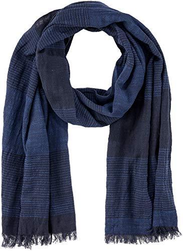 Marc O'Polo Herren Schal 827810602150, Blau (Darkest Blue 895), One Size (Herstellergröße: OSO)