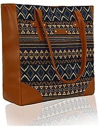 Kleio Women's Canvas Tote Bag(Multicolour)
