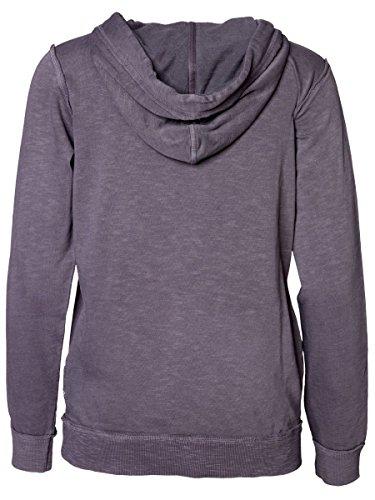 DAILY'S KLARA Damen Hoodie mit Kängurutasche/Tasche vorne aus 100% Bio-Baumwolle - soziale fair trade Kleidung, Mode vegan und nachhaltig Color loft, Size S - 2
