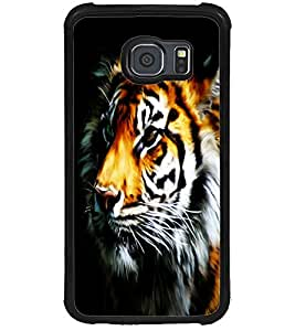 ColourCraft Tiger Look Design Back Case Cover for SAMSUNG GALAXY S6